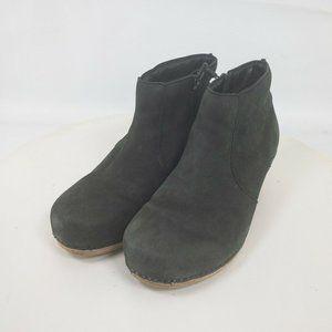 """Dansko Womens Block Heel 2"""" Ankle Boots Size 7"""
